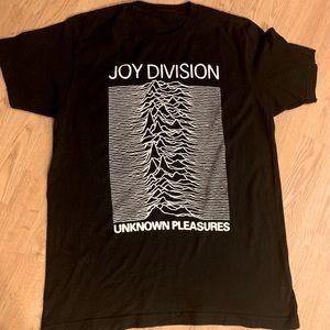 Joy Division Shirt - Punk Band Graphic Music Tee